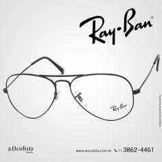 Óculos de Grau Ray Ban, aproveita!😍  Compre em Até 10x Sem Juros e frete grátis nas compras Acima de R$400,00  Acesse: www.aoculista.com.br/ray-ban  #rayban #glasses #oculos #eyeglasses #sunglasses