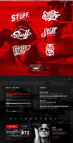 Skate Shop on Behance Type Design, Web Design, Graphic Design, Corporate Design, Branding Design, Bike Logo, Skate Art, Moon Design, Shop Logo