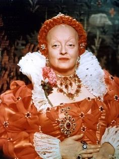 The Virgin Queen - Bette Davis as Elizabeth I, queen of England Vintage Hollywood, Hollywood Glamour, Classic Hollywood, Elizabeth I, Lucille Ball, Broadway, La Cousine Bette, Marilyn Monroe, Divas
