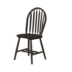 Update your kitchen or dining room decor with the Espresso Windsor Back Dining Chair set. These chairs offer simple, classic style that you will be proud to feature in your home.