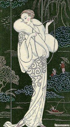 George Barbier (1913) #japonisme