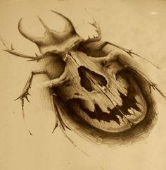 skull bug by AndreySkull.deviantart.com on @deviantART