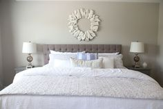 Bedroom | Interior Decor | Home Staging | Neutral Decor | How to Make a Bed Interior Decorating, Interior Design, How To Make Bed, Home Staging, Home Organization, Neutral, Bedroom, Furniture, Home Decor
