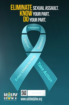 Sexual Assault Awareness & Prevention Month Ribbon Bleed (1)