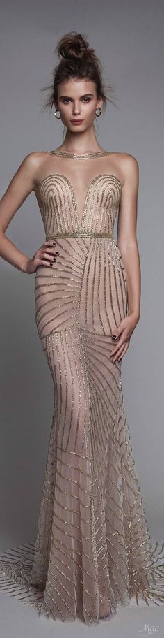 Fall/Winter 2017 BERTA. I just love the color, texture, pattern and shine here
