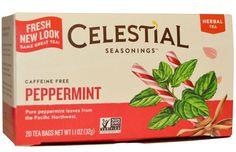 Best Celestial Seasonings Peppermint Herbal Tea Recipe on Pinterest