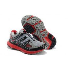 Nagelneu Salomon XR Mission W Männer Schuhe Grau Rot Schuhe Online | Beliebt Salomon XR Mission W Schuhe Online | Salomon Schuhe Online Verkauf | schuheoutlet.net
