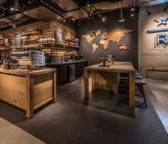 Starbucks first Seattle store with a Reserve coffee bar is now open and marries the third place experience with the educational aspects of the company's Seattle Roastery and its rare, small lot Reserve coffees.