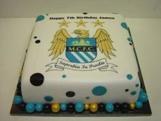 Manchester City Birthday Cake Ideas