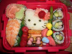 Hello Kitty Sushi Bento Box