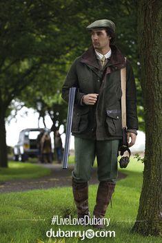 Dubarry waterproof outdoor jacket for men.