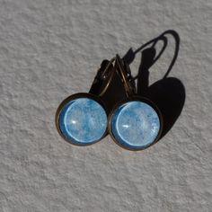 Boucles d'oreilles aquarelle dormeuses à par oliviaquarelle sur Etsy