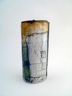 Ceramics by Jessica Jordan at Studiopottery.co.uk - 2012. Porcelain vessel