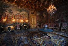 Le salon des Tapisseries au château de Fontainebleau