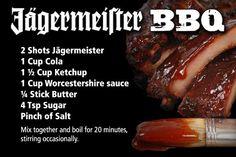Jagermeister's BBQ Sauce
