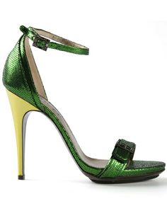 LANVIN Metallic Sandal