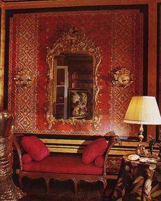 red ~ Renzo Mongiardino design