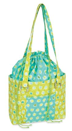 From Nancy Zieman's Blog: Use your favorite handbag pattern and add a roomy extension.
