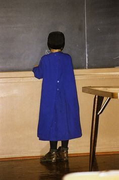 Amish School - this could totally be me in 2nd grade in the Amish school on the West Kootenai in Montana. :)