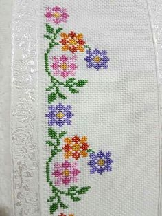 Cross Stitch Bookmarks, Cross Stitch Rose, Cross Stitch Borders, Modern Cross Stitch Patterns, Cross Stitch Flowers, Counted Cross Stitch Patterns, Cross Stitch Designs, Cross Stitching, Herb Embroidery