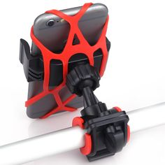 Bike Bicycle Motorcycle Handlebar Mount Holder Phone Holder With Silicone Support Band For Iphone Samsung XIAOMI GPS Universal Cell Phone Mount, Cell Phone Holder, Bike Handlebars, Mtb Bike, Cycling Accessories, Motorcycle Accessories, Support Telephone, Iphone Models, Samsung Cases