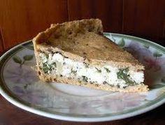 Receita de Torta Integral de Espinafre com Cottage - Mulher Malhada