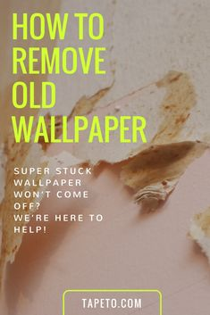 To Ensure That Your New Wallpaper Sticks Walls Properly And It Looks As