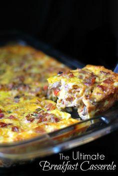 The Ultimate Breakfast Casserole   Aunt Bee's Recipes