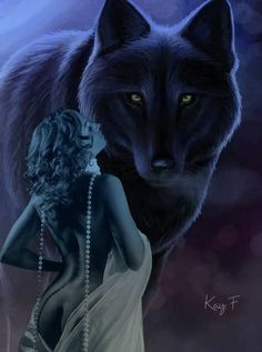 Dark Fantasy Art, Fantasy Artwork, Female Grim Reaper, Wolves And Women, Wolf Images, Wolf Painting, Harley Davidson Art, Female Vampire, Wolf Quotes