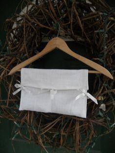 """Sachet - 7"""" X 10"""" Sachet on Wooden Hanger, 2 pockets, Your Choice of Fragrance"""