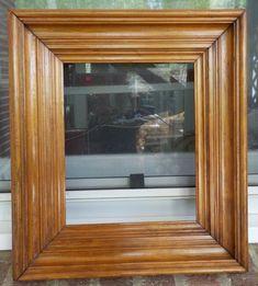 Decorative Arts Antiques Antique Victorian Original 14 X 16 Shadow Box Wood Picture Frame