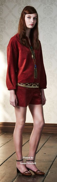 Tory Burch Collection Pre-Fall 2015