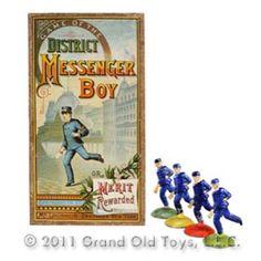 1886 Mcloughlin, Game Of The District Messenger Boy