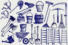 Gardening Tools  @creativework247