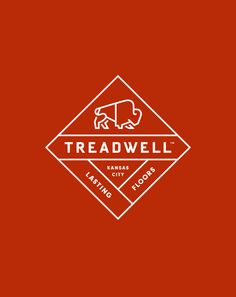 Treadwell designed by Perky Bros logo design