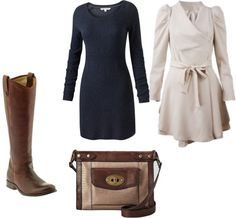 """""""Winter Church Outfit"""" by polkadotprincess11 on Polyvore (I have that bag!)"""