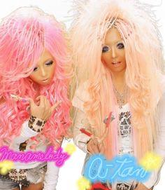 gyaru hair <3
