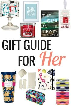 Holiday Gift Guide for Her | Christmas - Very Erin