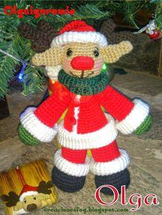 creaciones FOG: CAL diciembre: Reno navidad terminado