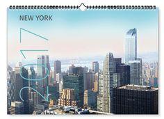 Aus zahlreichen Kalender Formaten das passende wählen und nach eigenen Wünschen individualisieren von onlineprintXXL #kalenderformat #formatkalender #wunschkalender #kalendermonat #momentaufnahme New York 2017, New York Skyline, Calendar, Travel, Pictures, Wall Calendars, Viajes, Destinations, Life Planner
