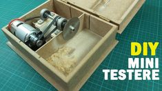 Easy DIY Table 2020 for 11 beautiful Diy Table Saw 775 Motor tutorial, you can see 11 beautiful Diy Table Saw 775 Motor tutorial and more pictures for Table Ideas 2020 at WELCOME. Dremel Table Saw, Diy Table Saw, Make A Table, Circular Table, Circular Saw, Motor Dc, Mechanical Engineering Design, Wie Macht Man, Small Cafe