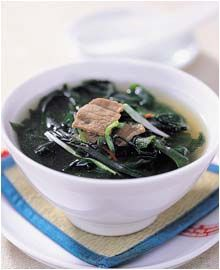 Korean Seaweed Soup is traditionally eaten on your birthday. My mom makes this for me every year for my birthday. This recipe gives you a great idea on how to make the soup, but don't be afraid to change it to your liking. I add tons more garlic and make my own beef broth with ox tail.