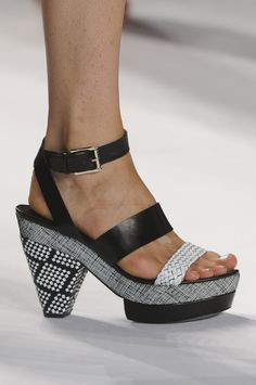 ~~ Rebecca Minkoff ~~ love the pattern and texture mix ♥♥♥ ~~