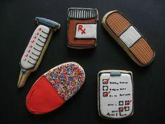 Medical School Cookies party-ideas