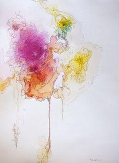 Bailey Harberg, abstract,  #abstract #watercolor