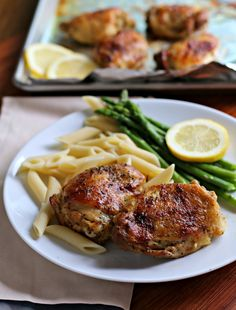 lemon pepper chicken thighs in the crockpot
