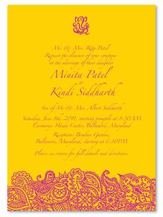 Indian Wedding Cards - Bombay recycled)- Vibrant, mysterious and full of charm with a classic Indian style, these wedding invitations from ForeverFiances offer a unique way to give your guests all the details of your upcoming nuptials. Indian Wedding Invitation Wording, Pocket Wedding Invitations, Handmade Wedding Invitations, Printable Wedding Invitations, Invitation Templates, Wedding Stationery, Happy Birthday Invitation Card, Invitation Suite, Invitation Design