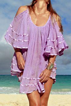 Jen's Pirate Booty Nena tunic in lilac