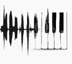 Not sure id go for, not playing the piano and all but cool looking. Heart beat monitor to piano is a great tattoo idea. Music Tattoos, Tatoos, Piano Tattoos, Guitar Tattoo, Plakat Design, Piano Keys, Twenty One Pilots, Music Is Life, Music Music