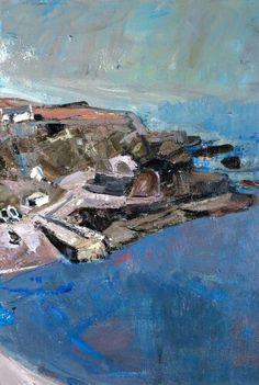Joan Kathleen Harding Eardley (British artist) 1921 - 1963 Watercolor Landscape, Landscape Art, Landscape Paintings, Glasgow, Online Art Courses, Abstract City, Seascape Paintings, Plein Air, Lovers Art